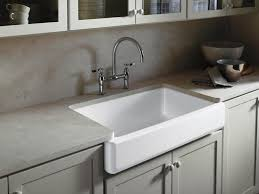 Awesome Kitchen Sinks by Kitchen Apron Front Kitchen Sink Intended For Gratifying