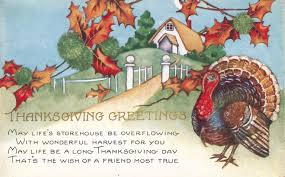 vintage thanksgiving postcards the verse on this card matches my