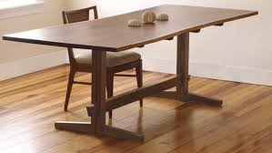 what is a trestle table a fresh take on the trestle table finewoodworking