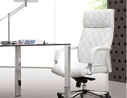 white office chair zuo regal white office chair best computer chairs for office and