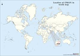 Yemen On World Map by Oman Map