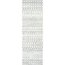 2 X 8 Runner Rugs 3 X 8 Runner Rug 2 X 8 Runner Rugs Geometric Grey