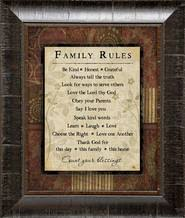 framed family proclamation family proclamation 14x17 framed deseret book