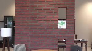 Brick Wall by Diy Fake Brick Wall By Recycled Material Mdf Youtube
