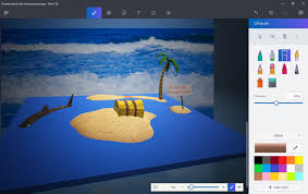 how to use microsoft paint 3d u2013 the new version of the painting