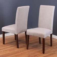 linen chairs seville linen dining chairs set of 2 free shipping today