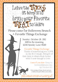 byob halloween invitation wording u2013 fun for christmas