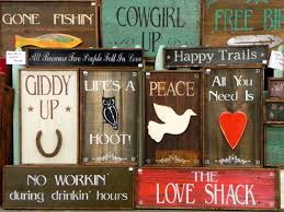 signs and decor home handcrafted wood signs and home decor bar d signs
