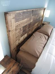 How To Make A King Size Platform Bed With Pallets by Diy Platform Bed Plans Diywithrick