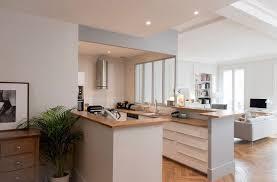 cuisine salle a manger ouverte cuisines semi ouvertes sur le salon ou la salle à manger cuisine
