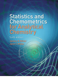 statistics and chemo metrics for analytical chemistry 6th ed j