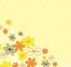 retro flower background texture retro flower design vector
