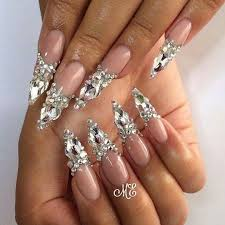 84 best bling nails images on pinterest bling nails pretty