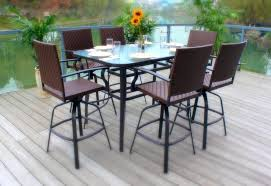Pub Patio Furniture Patio Ideas Outdoor Patio Bar Table And Chairs Patio Pub Table