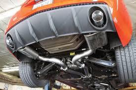 camaro exhaust system 2011 camaro gets a jba cat back exhaust