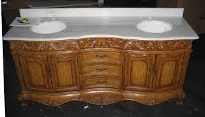 73 inch antique style double sink bath vanity