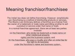 What Is Business Credit Card What Does It Mean To Franchise