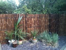 best bamboo fencing for garden and outdoor design reed fencing