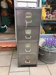 Vintage Metal File Cabinet Vintage Metal Filing Cabinet The Consortium Vintage Furniture