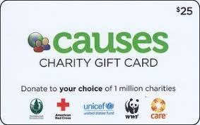 gift card charity gift card causes united states of america