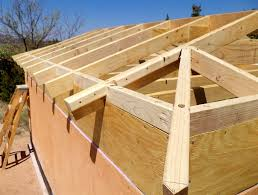 Hip Roof Design Calculator by Building A Well House 4 Framing The Hip Roof Superb How To