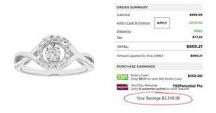 engagement rings kohl s kohls 85 20 rings kohl s run