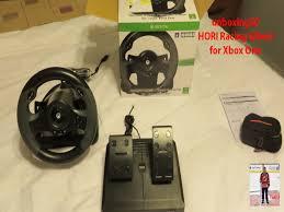 xbox one racing wheel unboxing50 hori racing wheel for xbox one