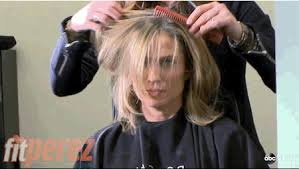 amy robach hairstyle amy robach gets a tearful short haircut during chemo watch her