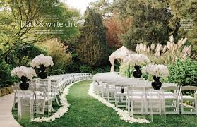 modern style outdoor wedding ideas with outdoor wedding venue