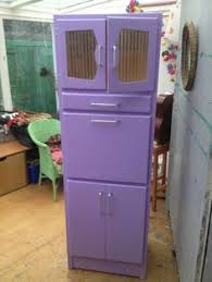 1950s Kitchen Furniture Vintage Retro Kitchen Cabinet Cupboard Larder Kitchenette 50s 60s