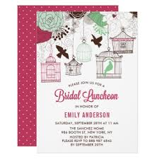 bridal luncheon gifts rustic green bird cages bridal luncheon card bridal shower