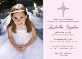 communion invitations for girl girl communion invitation communion invitations girl