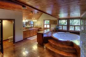 bathroom wood ceiling ideas the beautiful wood ceilings in this master bathroom help