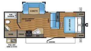 Open Range Travel Trailer Floor Plans by Awesome 2 Bedroom Travel Trailer Floor Plans Including