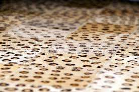 Leather Cowhide Fabric Leopard Pattern 5x8 Cow Skin Leather Cowhide Rug Carpet