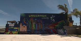 one wall at a time murals transform san diego s lincoln park kpbs a mural faces a vacant lot at imperial avenue and 50th street march 9