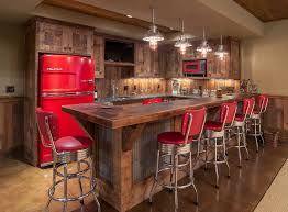 Rustic Basement Ideas by Steven Cabinets