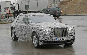 roll royce rolsroy 2018 rolls royce phantom prototype partially reveals new