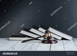 On Table Law Concept Open Law Book Wooden Stock Photo 616259696 Shutterstock