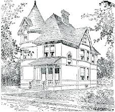 printable gingerbread house colouring page coloring page of a house gingerbread houses coloring pages house