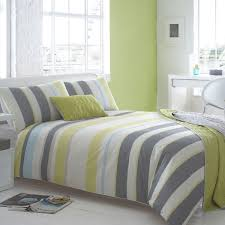 53 off ben de lisi home grey and lime green striped lennox
