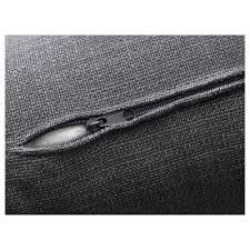 vallentuna back cushion hillared dark gray ikea