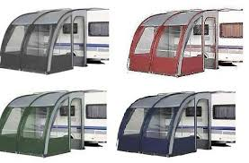 Motorhome Porch Awning Ontario 260 Xl Lightweight Caravan Porch Awning Blue Green