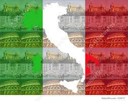 Map Rome Italy by Map Of Italy With Rome Attractions Stock Illustration I1359717 At