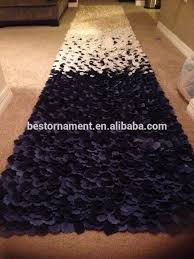 black aisle runner petal aisle runner petal aisle runner suppliers and manufacturers