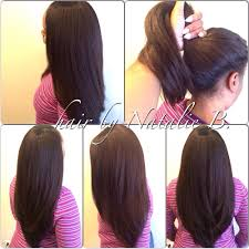 need sew in ideas 17 more gorgeous weaves styles you amazing versatility high ponytails or sleek sexy flawless sew in