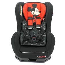 siege auto bebe fille siège auto disney de 0 à 18 kg avec protections latérales