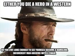 Clint Eastwood Chair Meme - feeling meme ish clint eastwood movies galleries paste