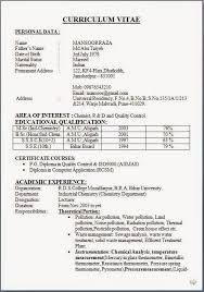 forms of resume fresher chemistry teacher resume starengineering