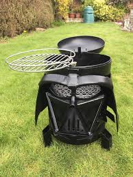 Firepit Sale For Sale Darth Vader Mask Pit Bbq Grills Geekologie
